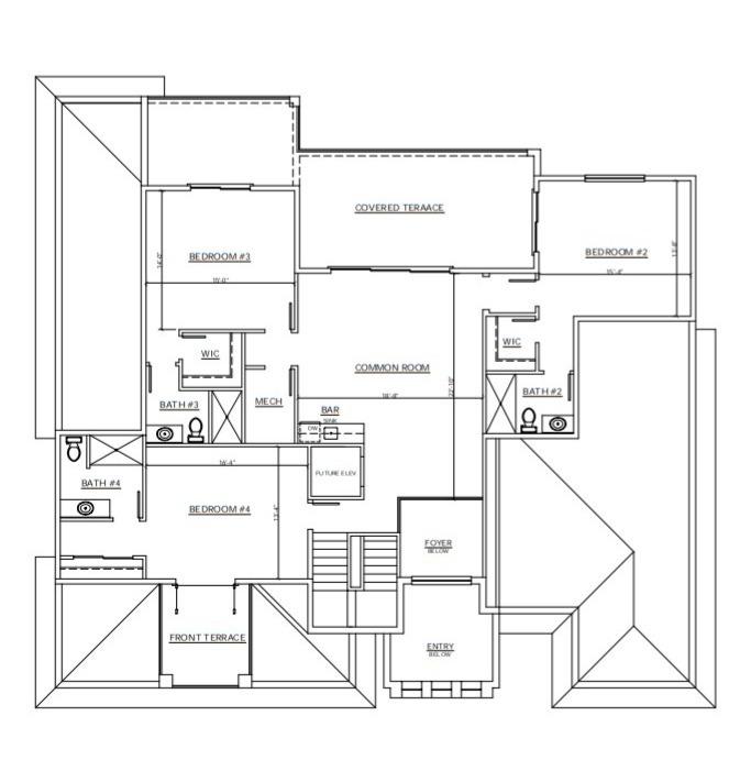 Second Floor Plan A
